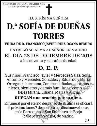 Sofía de Dueñas Torres